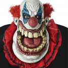 Standard Size: #60708  Crazy Psycho Fatty McClownface IT Pennywise Big Mouth Adult Costume Mask