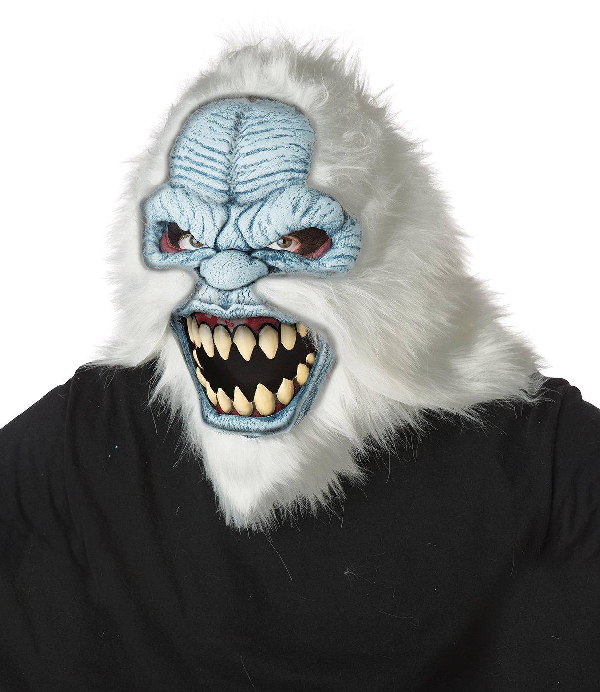 Standard Size: #60705  Abominable Snowman Yeti Adult Costume Ani-Motion Mask