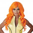 #70871   Sexy Marvel Pop Art Superhero Orange Costume Accessory Wig
