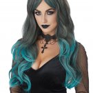 #70889  Victorian Gothic Bewitching Witch Vampire Costume Accessory Wig