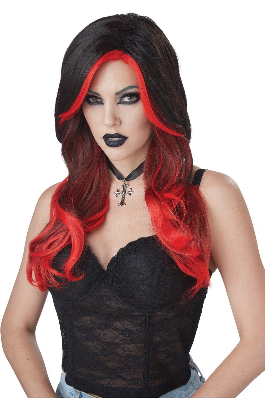 #70883  Victorian Renaissance Gothic Fatal Beauty Vampire Costume Accessory Wig