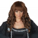 #70894  Renaissance King of Thrones Viking Warrior Queen Costume Accessory Wig