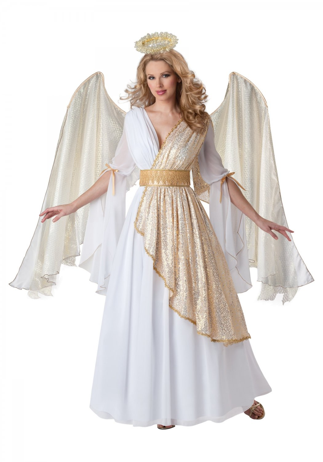 Size: Large #51012L  Christmas Heavenly Angel Adult  Costume