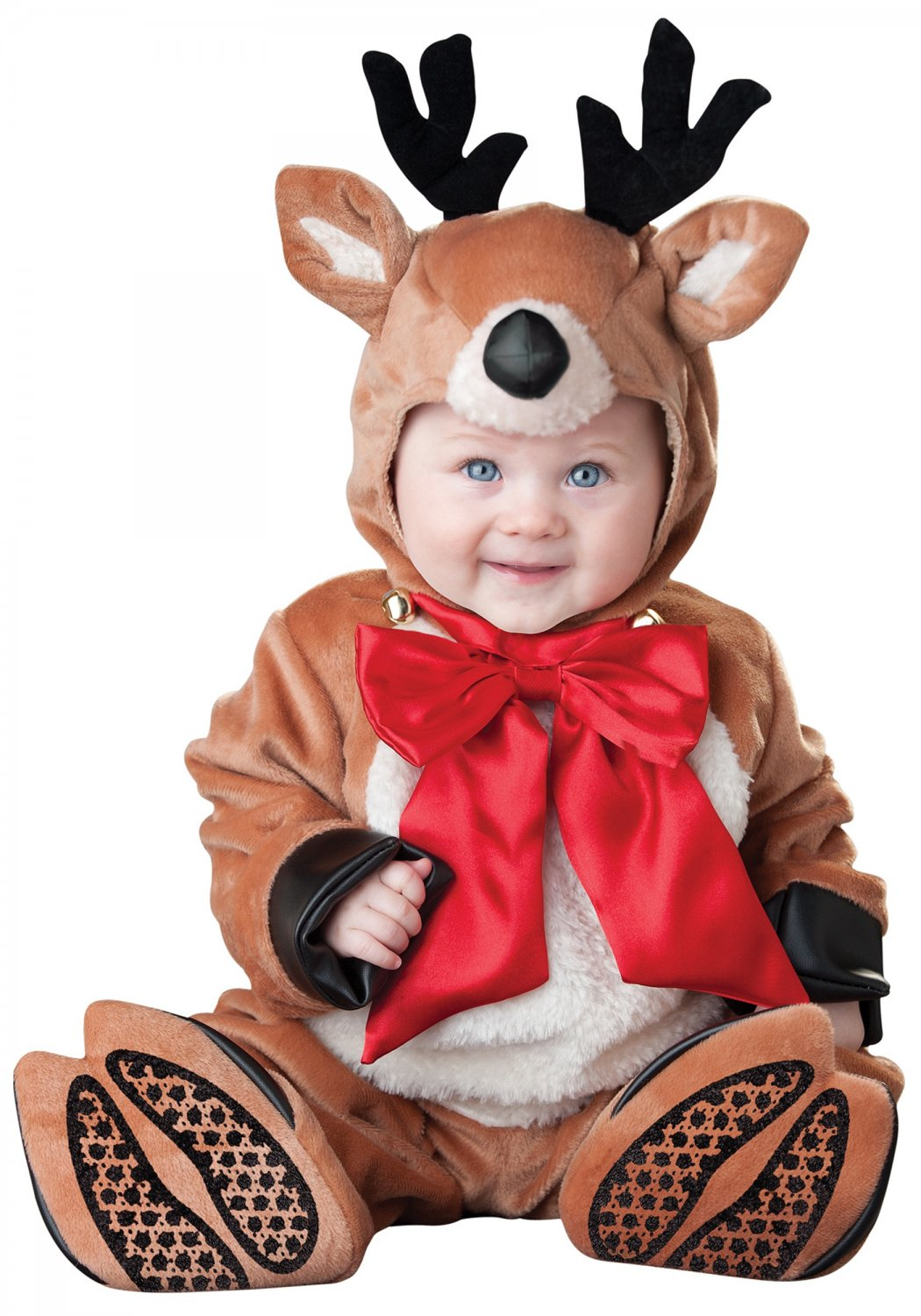 Size: Small #56004S Baby Christmas Rudolph the Reindeer Rascal Toddler Costume