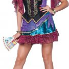 Size: X-Small #25005XS Flirty Fortune Teller Incharacter Adult Costume