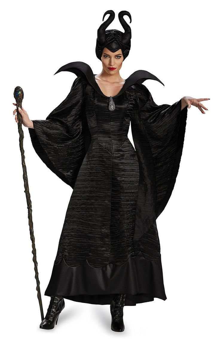 Size Small: 71825N Disney Maleficent Christening Gown Adult Costume