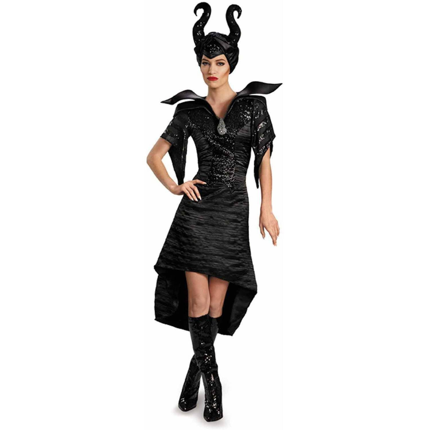 Size Small: 71833N Disney Maleficent Glam Christening Gown Adult Costume