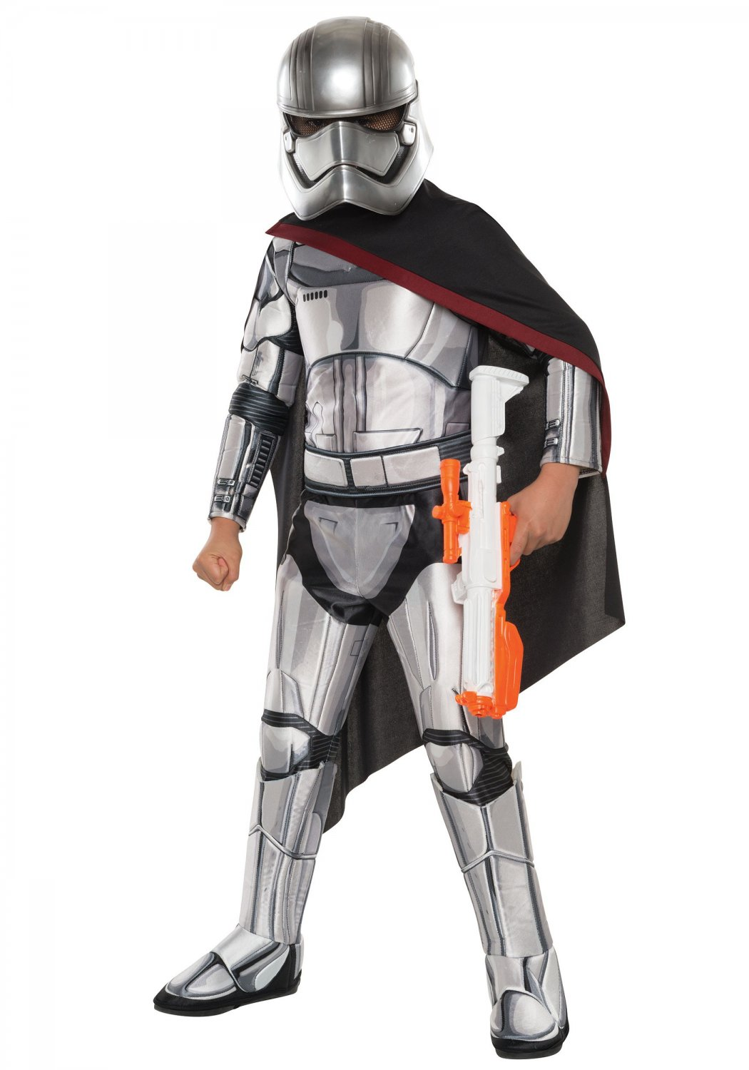 Size: Small #620092S Disney Star Wars Super Deluxe Captain Phasma Child Costume