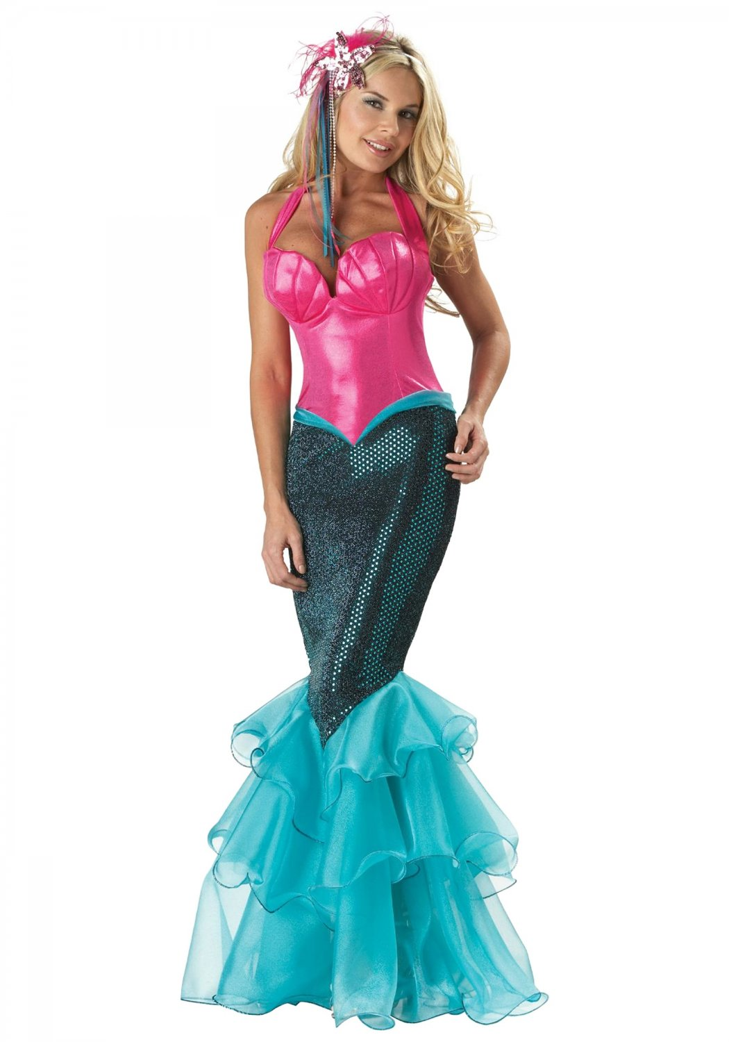 Size: Large #1033L Sexy Ariel Mermaid Deluxe Incharacter Adult Costume