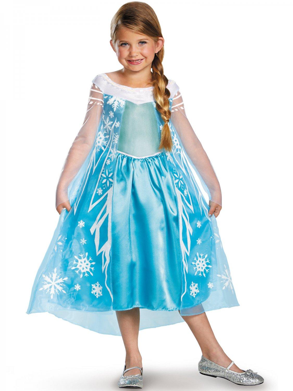 Size: Medium #56998M Disney Princess Frozen Elsa  Child Costume
