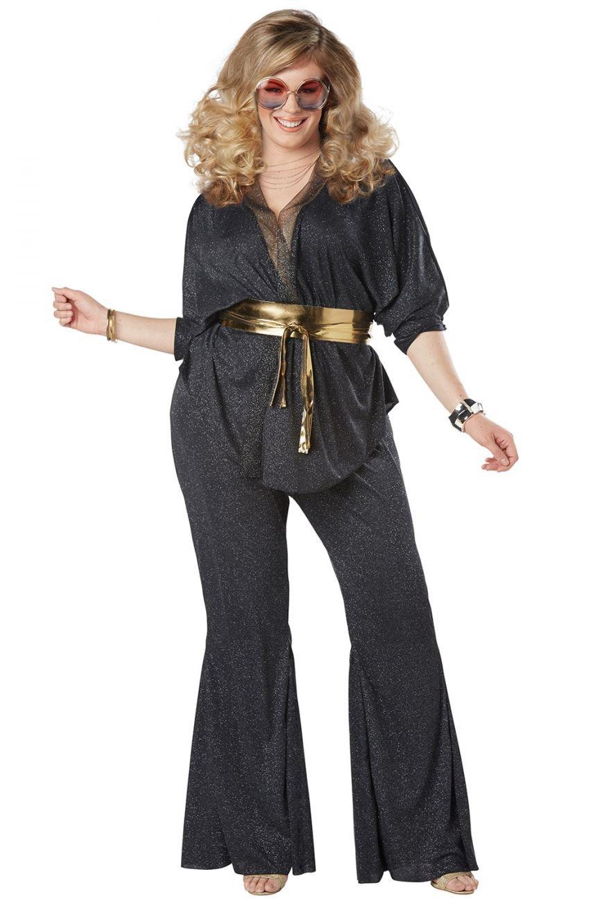 Plus Size: 3X-Large  #01777 Disco Dazzler 70's Dance Fever Adult Costume