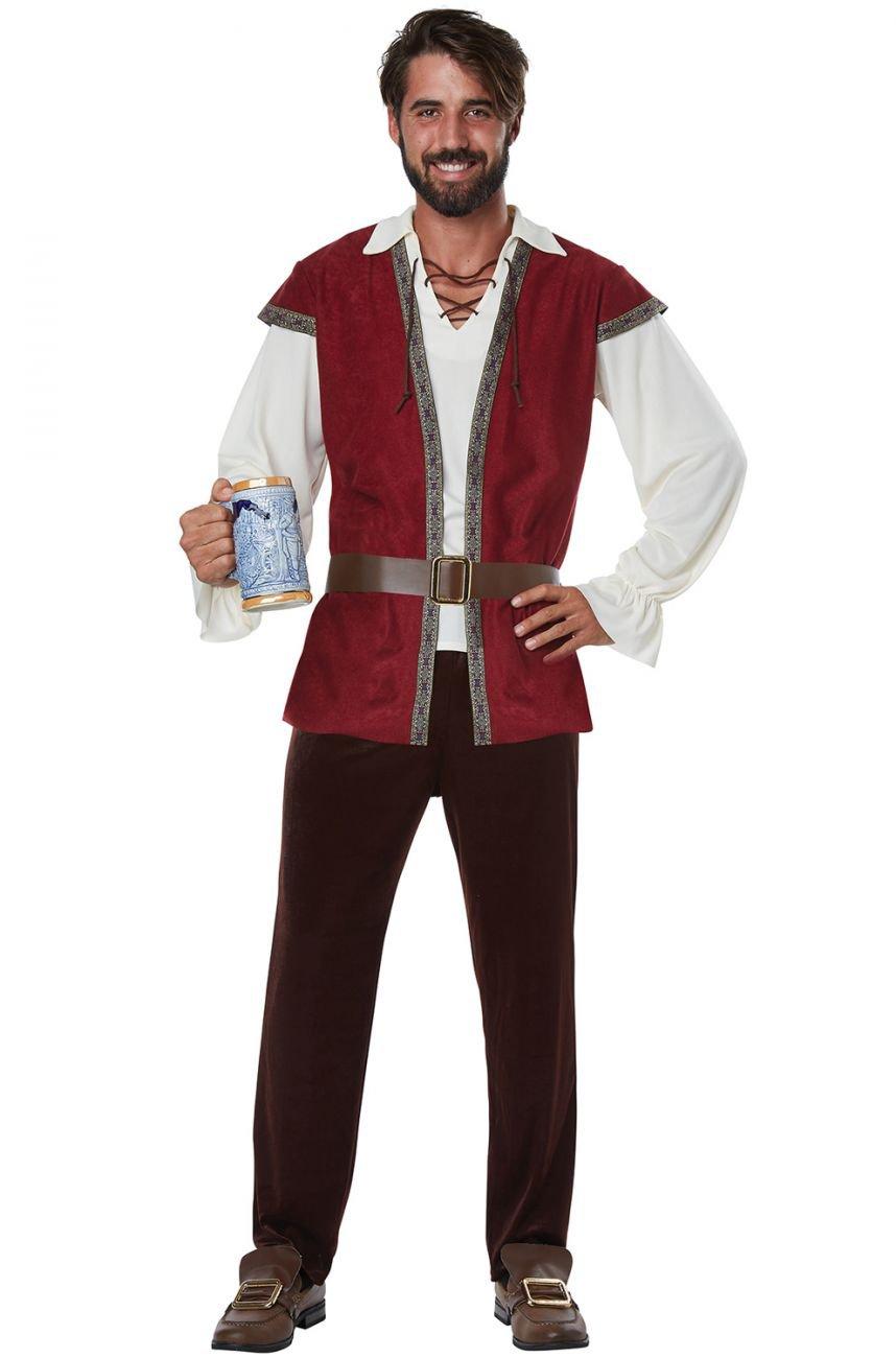 Plus Size: #1780  Medieval Man Renaissance Adult Costume