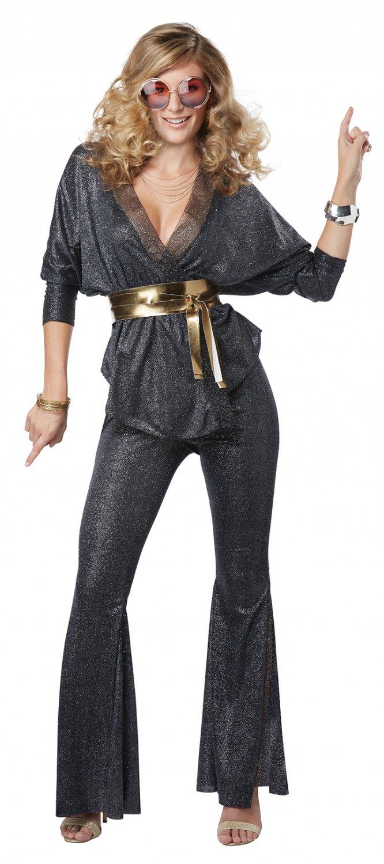 Size: Small #01437  Disco Dazzler Funk 70's Saturday Night Fever Adult Costume
