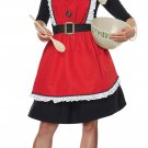 One Standard Size #01498 Mrs. Santa Claus Christmas Adult Apron Costume