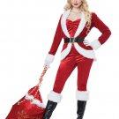 Size: Medium  #01492   Christmas Sexy Sassy Santa Claus Workshop Adult Costume