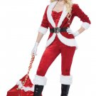 Size: Large  #01492   Christmas Sexy Sassy Santa Claus Workshop Adult Costume