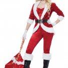 Size: Large  #01492   Christmas Sexy Sassy Santa Claus Workshop Adult Costume