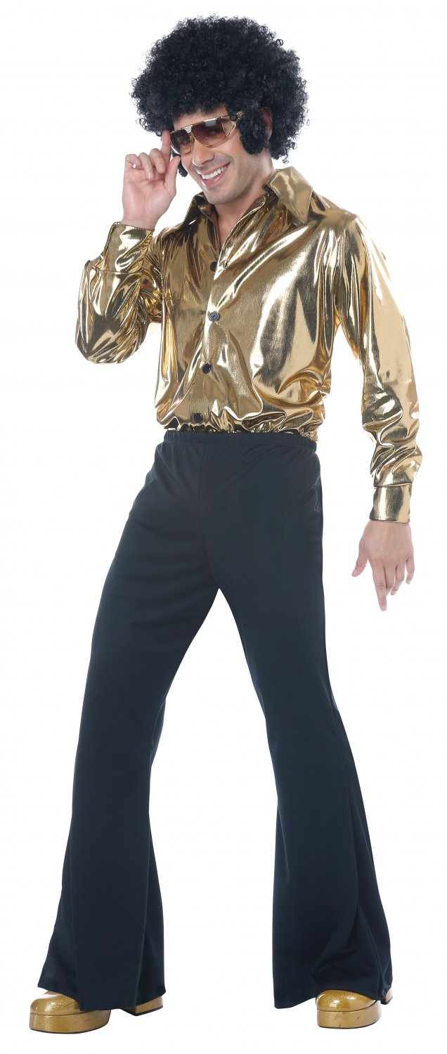 Plus Size: # 01788 Disco King 70's Saturday Night Dance Fever Adult Costume