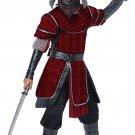 Size: Large #00654 Deluxe Samurai  Stealth Ninja Japanese Warrior Child Costume