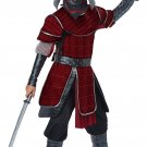 Size: Medium #00654 Stealth Ninja Deluxe Samurai Japanese Warrior Child Costume