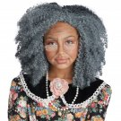 One Size Fits Most #60736 Fancy Nana Grandma Old Woman Afro Kit 100 Days of School Child Costume