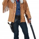 Size: Large/X-Large # 01529 Western Buffalo Bill Frontier Man Davy Crockett 1800's  Adult Costume