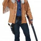 Size: Small/Medium # 01529 Buffalo Bill Western Frontier Man Davy Crockett 1800's  Adult Costume