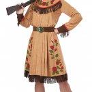 Size: Medium #01528 Annie Oakley Western Cowgirl 1800's Sheriff Adult Costume