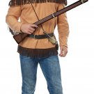 Size: Large # 01527  Davy Crockett Western Frontier Man 1800's  Adult Costume