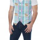 Size: Large/X-Large # 60731  Rabbit Easter Bunny Adult Men Costume Vest Kit