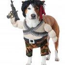 Size: Medium #20156 Military Rambo Action Hero USA Patriotic Pet Dog Costume