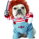 Size: Medium #20157 Psycho Killer Chucky Deadly Doll Pet Dog Costume