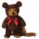 Size: Small #20162  Zoo Animal Brown Teddy Bear Pet Dog Costume