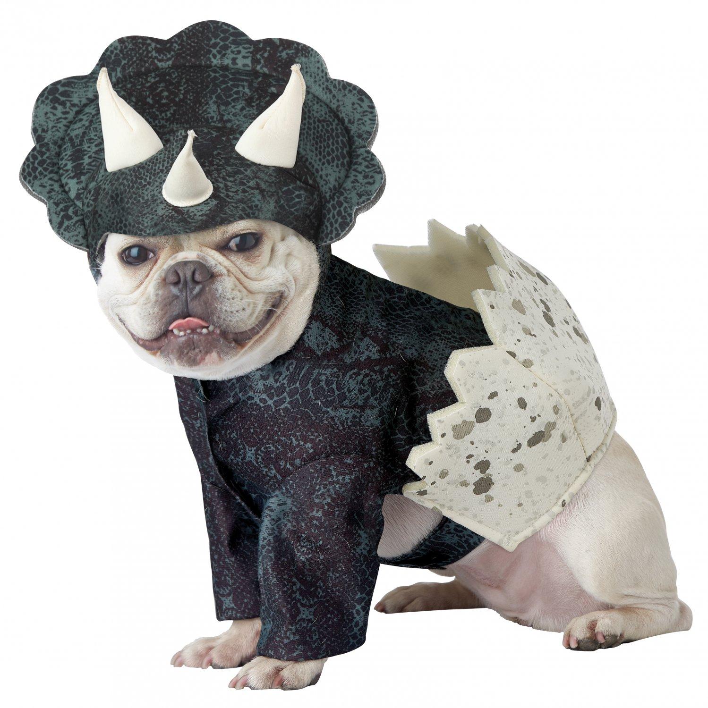 Size: Large #20159  Triceratop Reptile Dino Pup  Dinosaur Pet Dog Costume