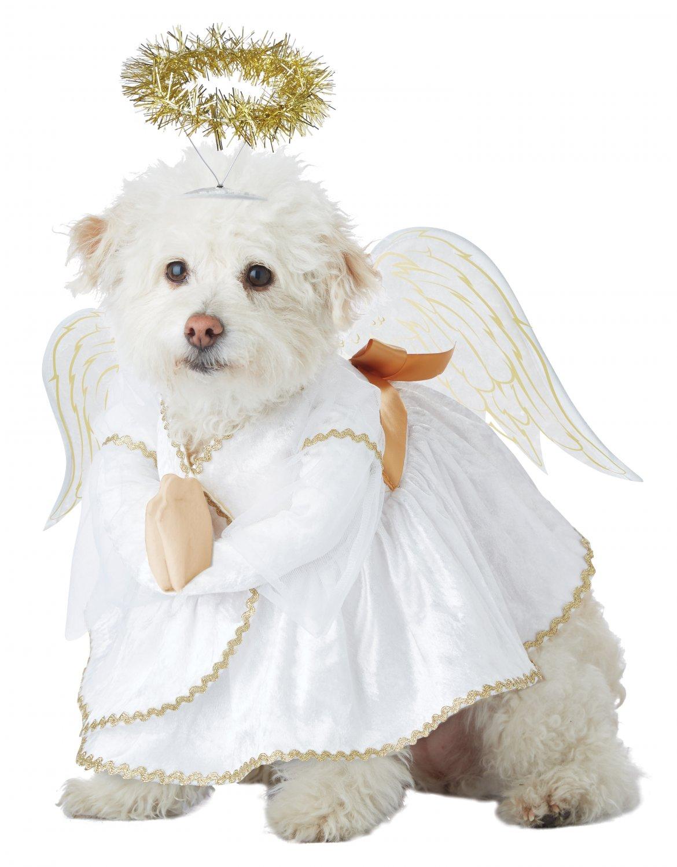 Size: Large #20153  Angel X-Mas Heavenly Hound Christmas Pet Dog Costume