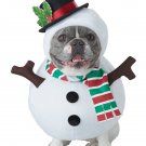 Size: Large #20154   Christmas Frosty the Snowman Dog Costume