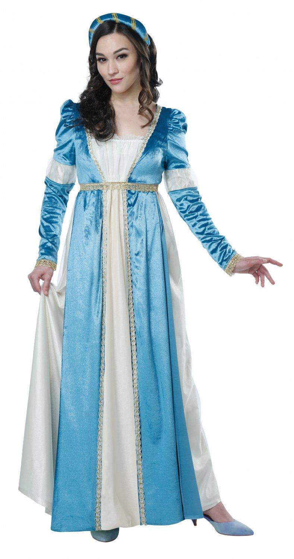 Size: Large #00711 Queen Elizabeth Renaissance Juliet William Shakespeare Adult Costume