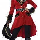Size: Medium #01429 Buccaneers Swashbuckler Pirate High Seas Heroine Adult Costume