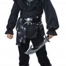 Size: Small #00596 Captain Hook Buccaneer Black Beard Skull Island Pirate Child Costume