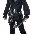 Size: Large #00596  Buccaneer Black Beard Skull Island Pirate Child Costume