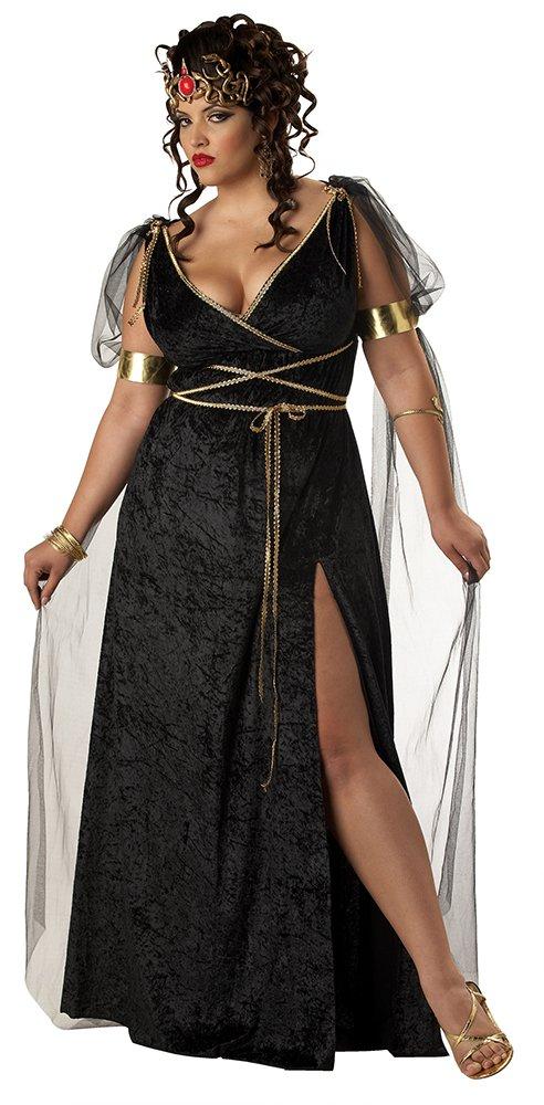 Size: 3X-Large #01622  Renaissance Medusa Roman Greek Queen Plus Size Adult Costume