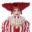 #70933  IT Creepy Clown Psycho Doll Circus Jester Joker Costume Accessory Wig