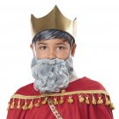 #70918 Nativity Christmas Melchior of Persia Three Wise Man Beard and Moustache Costume Accessory