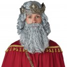 #70921  Nativity Christmas Biblical Jesus Wig and Beard Adult Costume