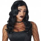 #70926 Gothic Witch Sexy Sultry Siren Adult Costume Black Accessory Wig