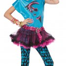 Size: Medium #04020 80's Valley Girl Punk Rock Tween Child Costume
