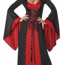 Size: X-Small #01148 Gothic  Demon Vampire Hooded Robe Adult Costume