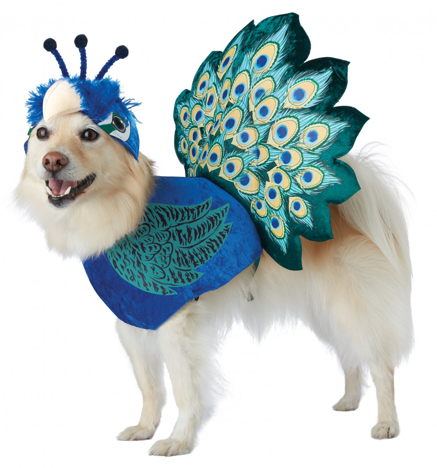 Size: X-Small #20165 Pretty As A Peacock Exotic Bird Animal Pet Dog Costume
