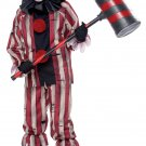 Size: Large #00358 Creepy Nightmare Clown Gothic IT Monster Child Costume