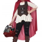 Size: Large #00537 Ain't Afraid of No Big Bad Wolf Little Red Riding Hood Child Costume